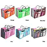 Nylon Handbag Insert Comestic Gadget Purse Organizer