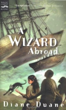 A Wizard Abroad: The Fourth Book in the Young Wizards Series by Diane Duane| wearewordnerds.com