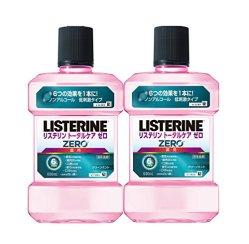 【まとめ買い】薬用 LISTERINE リステリン トータルケア ゼロ 1000ml×2個