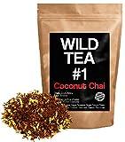 Coconut Chai Tea, Organic Loose Leaf Tea, Wild Tea #1 Herbal Rooibos Chai Tea (2 ounce)