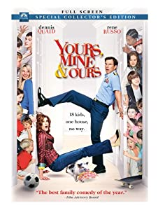 """Cover of """"Yours, Mine & Ours (Full Screen..."""