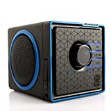 GOgroove SonaVERSE BX Rechargeable Portable Stereo Speaker System w/ 3.5mm Aux Port for Phones , Tablets , MP3 Players , Laptops , Handheld Game Consoles , Portable DVD Players & More Devices