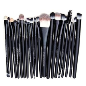hosaire-Pro-Pinceles-de-maquillaje-20pcs-Fundacin-polvo-de-sombra-de-ojos-Eyeliner-Lip-Brush-herramienta
