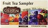 Celestial Seasonings Fruit Tea Sampler Tea Bags - 18 ct