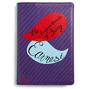 """kate spade new york Canvas Kindle Cover (Fits 6"""" Display, Latest Generation Kindle), the importance of being earnest"""
