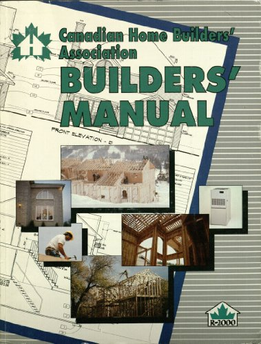 Canadian Home Builders' Association (C.H.B.A.) Builders ...