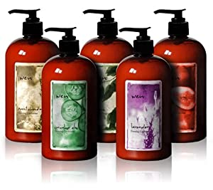 wen plete set of all five cleansing conditioners 16oz hair care products