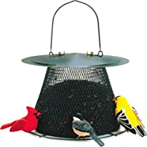 No No G00311 Forest Green Original Bird Feeder with Roof Extension