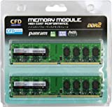 CFD-Panram デスクトップ用 DDR2 800 Long-DIMM 2GB 2枚組 CL5 W2U800PS-2G