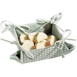 Walton & Co. Auberge Bread Basket - Duck Egg Green