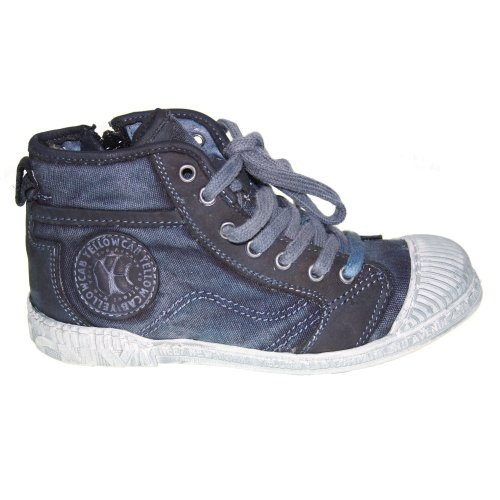 YELLOW CAB Kinderschuhe - SLOPPY JR 35033 - blue, Größe:30