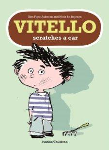 Vitello Scratches a Car by Kim Fupz Aakeson| wearewordnerds.com