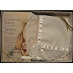 Baby's Christening Baptism Bonnet Becomes Bride's Wedding Hankie