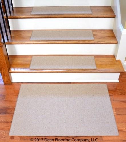 Dean Non Slip Tape Free Pet Friendly Diy Carpet Stair Treads Rugs   Dean Non Slip Stair Treads   Friendly Diy   Landing Mat   Fiber Sisal   Rugs   Keshan Chocolate
