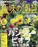 NHKテキスト 趣味の園芸 2016年 11 月号 [雑誌]