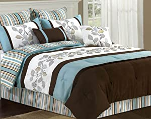 Amazon Com Morgen 8 Piece Oversized Comforter