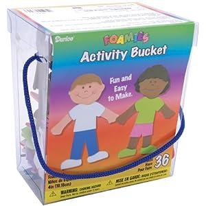 Darice Foamies Busy Bucket - Kids Of The World