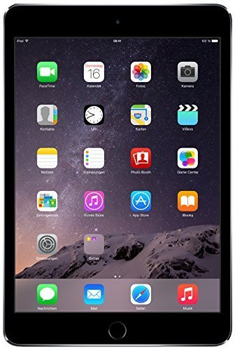 Apple iPad mini 3 MGNR2LL/A (16GB, Wi-Fi, Space Gray) NEWEST VERSION