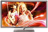 Philips 42PFL7406K/02 107 cm (42 Zoll) Ambilight LED-Backlight-Fernseher, Energieeffizienzklasse A  (Full-HD, 400 Hz PMR, DVB-T/-C/-S2, Smart TV) silbergrau