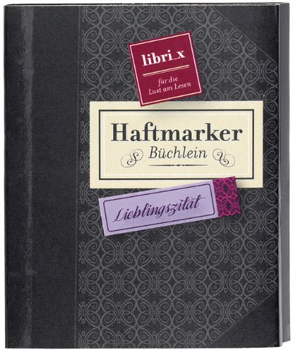 moses. 81911 libri_x Mini-Haftmarker Lieblingszitat
