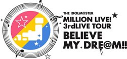 【Amazon.co.jp限定】 THE IDOLM@STER MILLION LIVE! 3rdLIVE TOUR BELIEVE MY DRE@M!! LIVE Blu-ray 03@OSAKA DAY1 (ライブ写真使用 オリジナル差し替えジャケット付)