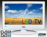LED Fernseher TV 19 Zoll 48 cm Gelhard GXT-1928 SAT DVB-S DVB-T USB, 230V +12Volt