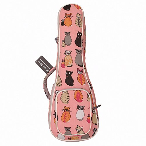 MUSIC-FIRST-cotton-MISS-CAT-ukulele-case-ukulele-bag-ukulele-cover