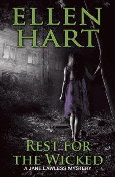 Rest for the Wicked (A Jane Lawless Mystery) by Ellen Hart| wearewordnerds.com