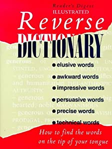 "Cover of ""Reverse Dictionary (Readers Dig..."