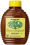 HoneyTree's Organic Rainforest Honey, 16-Ounce Bottles (Pack of 6)