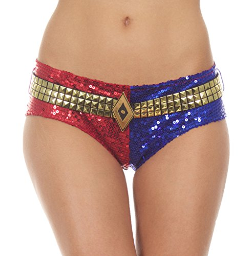 Suicide Squad Harley Quinn DELUXE Sequins Panty (Small)