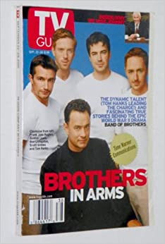 TV GUIDE - BAND OF BROTHERS (Tom Hanks & Cast on Cover ...