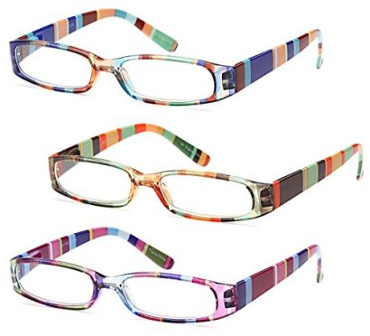 GAMMA-RAY-READERS-3-Pairs-Ladies-Readers-Quality-Reading-Glasses-for-Women