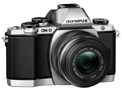 Olympus OM-D E-M10 16 MP Mirrorless Digital Camera with 14-42mm 2RK lens (Silver)