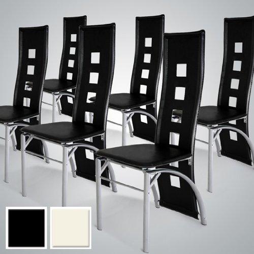 lot chaises noir pas cher