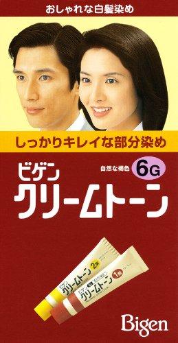 ビゲン クリームトーン 6G(自然な褐色)【HTRC5.1】