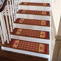 Stair Tread Rug | Oriental Carpet Stair Treads | Non Skid | Kings Court | Carpet Runners | Amazon | Stair Runner
