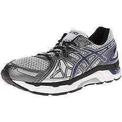 ASICS Men's Gel-Fortify Running Shoe,Lightning/New Navy/Charcoal,11 M US
