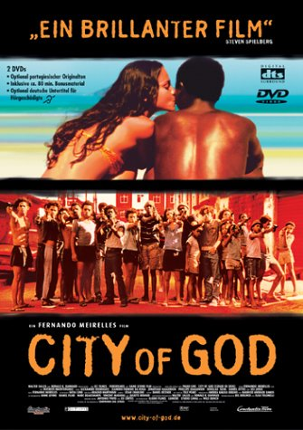 City of God - DVD; ca. 15 Euro