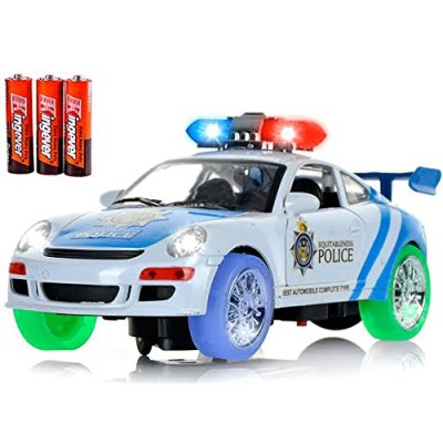 Classic-glow-Police-Car-Toy-with-3D-Technology-Flashing-Lights-and-Sounds-Bump-And-Go-Action-Car-Toys-for-Kids-Boys-and-Girls