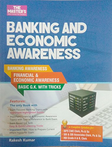 Banking and Economic Awareness (First Edition 2016)