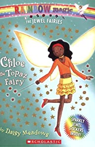 "Cover of ""Chloe: The Topaz Fairy (Rainbow..."