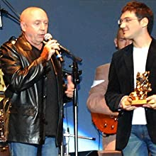 "Michel Mallory - award at ""Rose d'or"" 2008"