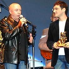 """Michel Mallory - award at """"Rose d'or"""" 2008"""