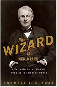 "Cover of ""The Wizard of Menlo Park: How T..."