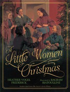 A Little Women Christmas by Heather Vogel Frederick| wearewordnerds.com