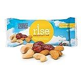 Rise Bar Non-GMO, Gluten-Free Breakfast Bars, Crunchy Cashew Almond, 12-Count