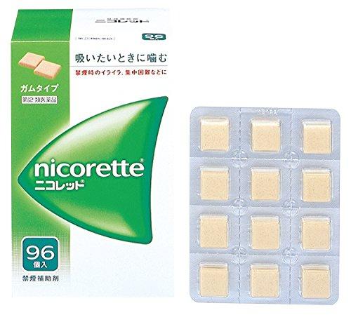【指定第2類医薬品】ニコレット 96個
