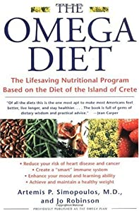 "Cover of ""The Omega Diet: The Lifesaving ..."