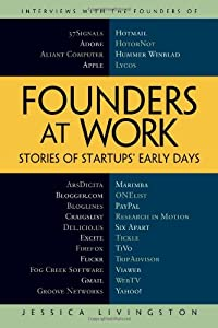 "Cover of ""Founders at Work: Stories of St..."